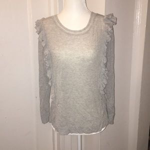 Rebecca Taylor ruffle sweater (new without tags)